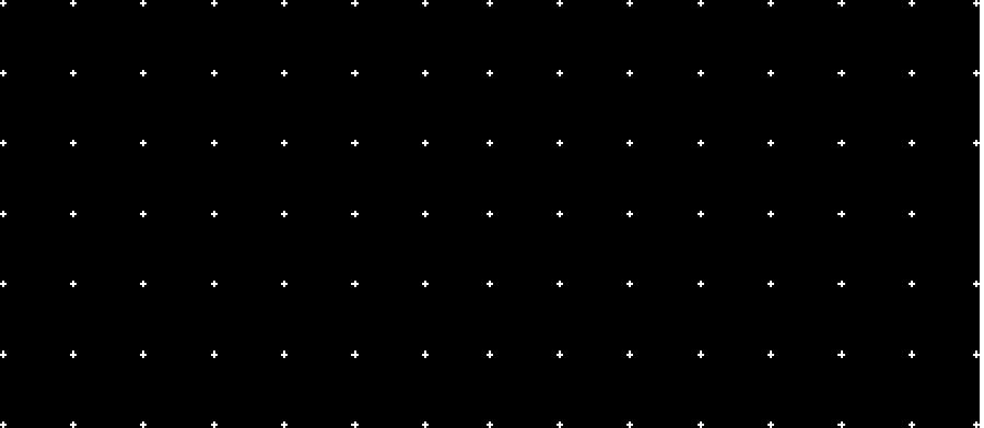 Efeito grade de pontos